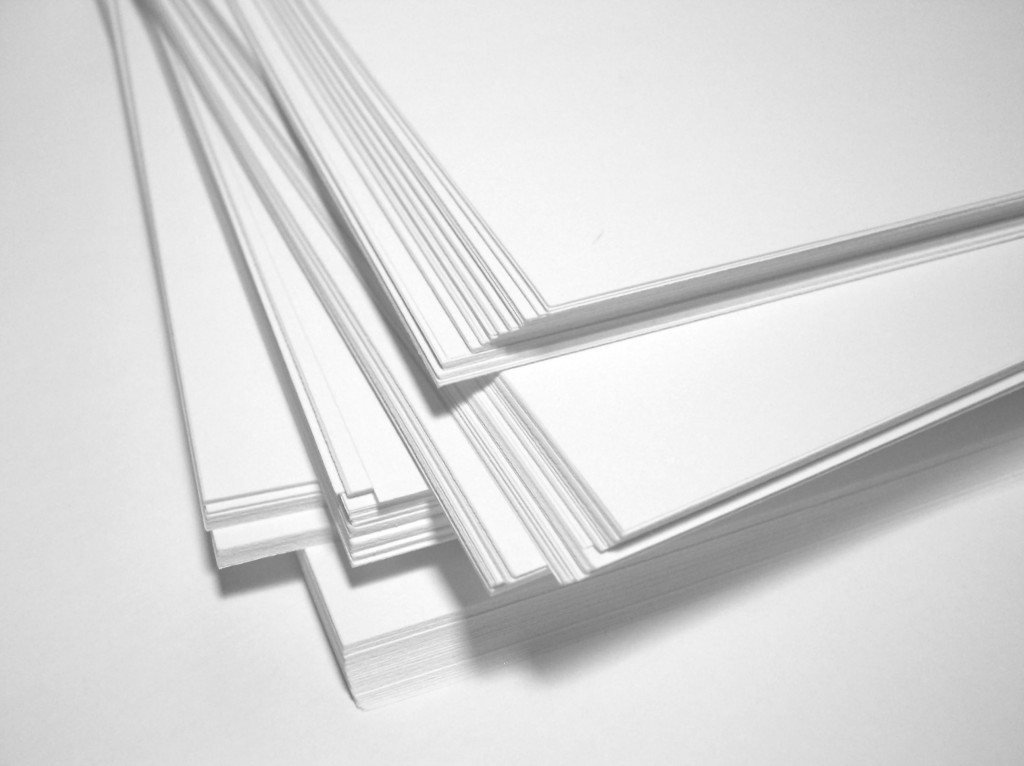 enfrentarte al papel en blanco